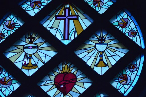 Stained Glass, Window, Church, Images, Color, Glass