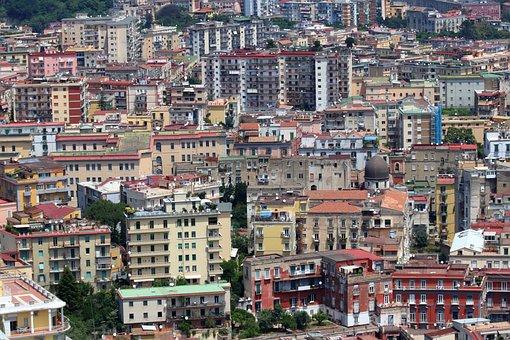 Naples, Napoli, Italy, Buildings, City, Italia