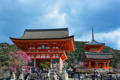 Japan, Kyoto, Shrine, Culture, Asia