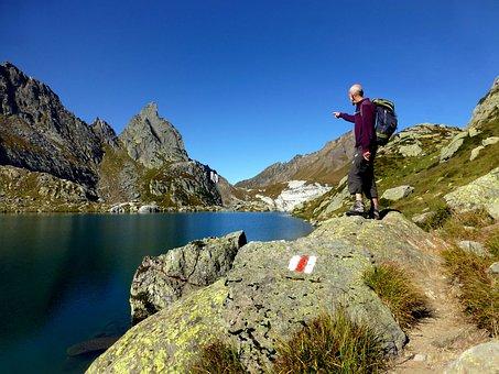 Switzerland, Leventina, High Mountains, Bergsee