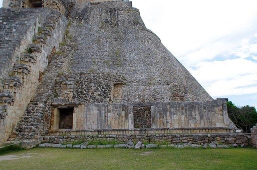 Mexico, Uxmal, Pyramid, Temple, Maya