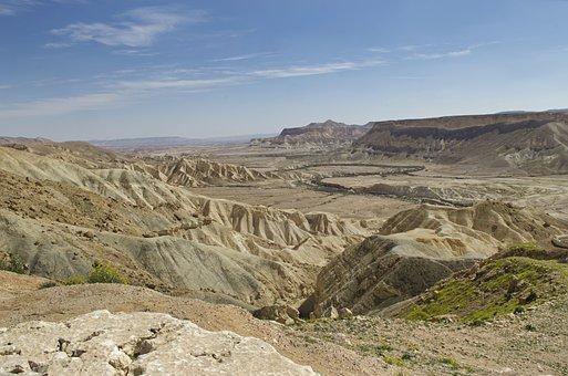 Negev, Israel, Landscape, Nature, Geology