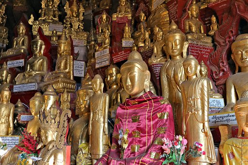 Cave With 8000 Buddha, Pindaya Caves, Burma, Myanmar