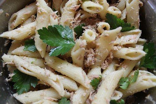 Parsley, Pasta Penne, Penne, Pasta, Restaurant, Tasty