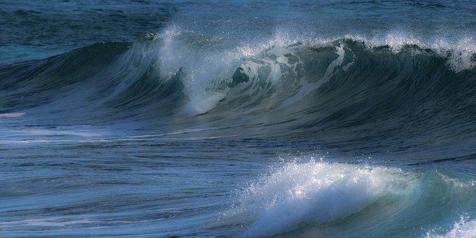 Wave, Surf, Sea, Ocean, Nature, Spray