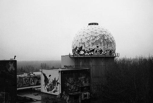 Teufelsberg, Berlin, Espionage, Interception Station