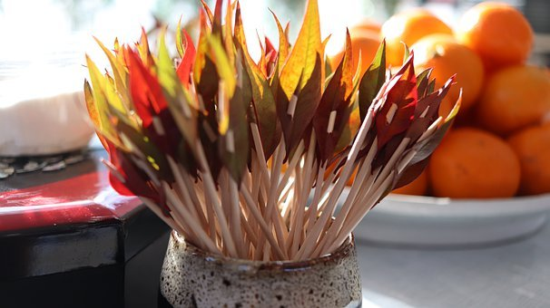 Summary, Toothpick, Fork, Fruit Decoration, Pick