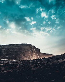 Sky, Blue, Roche, Travel, Clouds