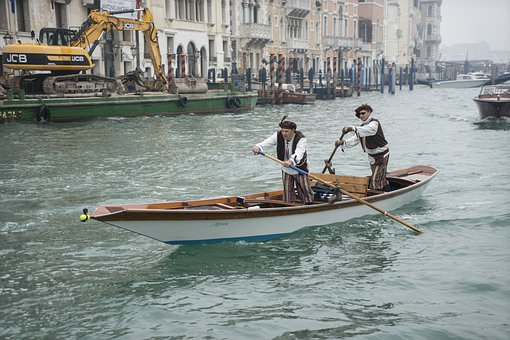Venice, Italy, Water, Vacations