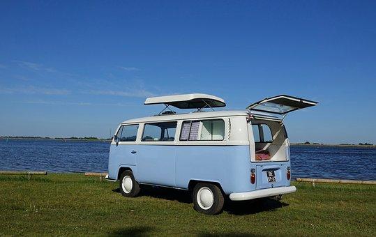 The Old Van, Volkswagen, Oldtimer, Van