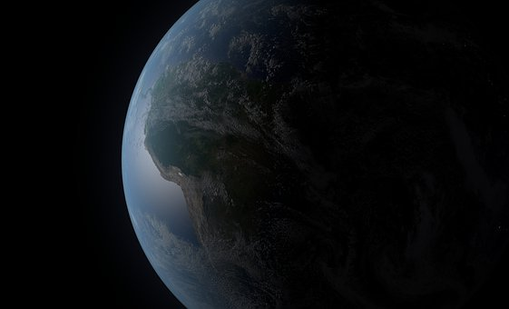 Earth, Space, Planet, 3d Render, World, Globe