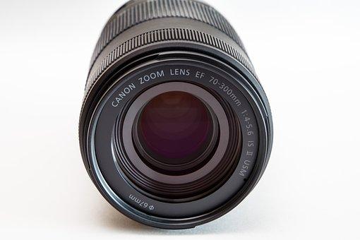 Lens, Canon, Zoom Lens Ef 70-300mm, Optics, Zoom