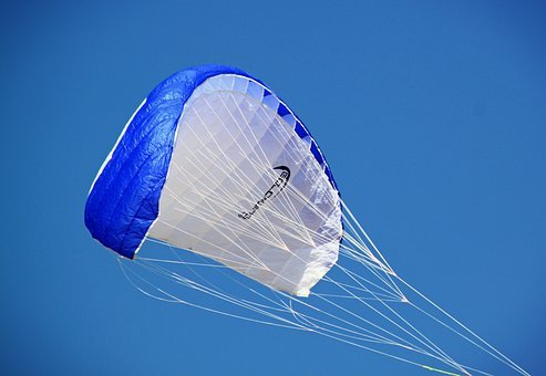 Paragliding, Air Sports, Parachute, Glide, Fly, Wind