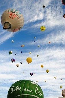 Hot Air Balloon, Balloon, Sky, Hot Air Balloon Ride