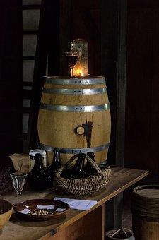 History, Keg, Beer, Crafting, Wooden, Still Life