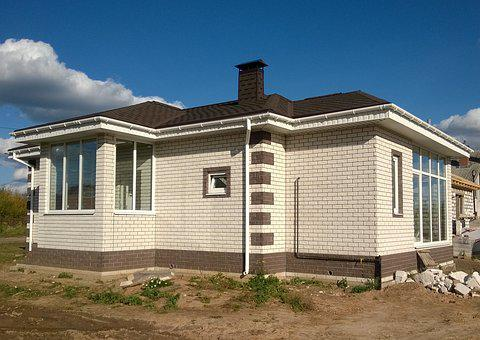 House, Construction, Cottage, New House, Building