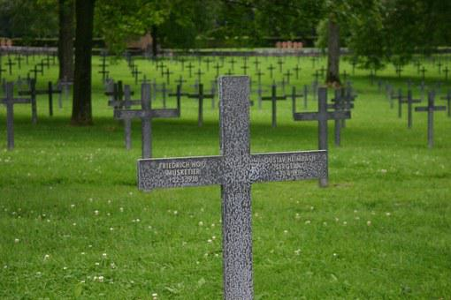 Cross, War Graves, Cemetery, Memorial, Northern France