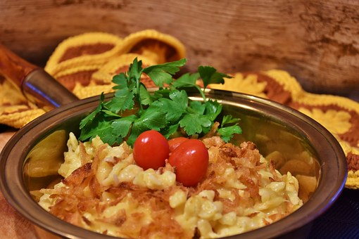 Cheese Noodles, Court, Eat, Delicious, Spätzle, Cheese