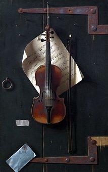 Fine Art, Fiddle, Vi, Classical, Music, Violin, Concert