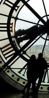 Musée D'orsay, Paris, Clock, Shadow Play, Station Clock