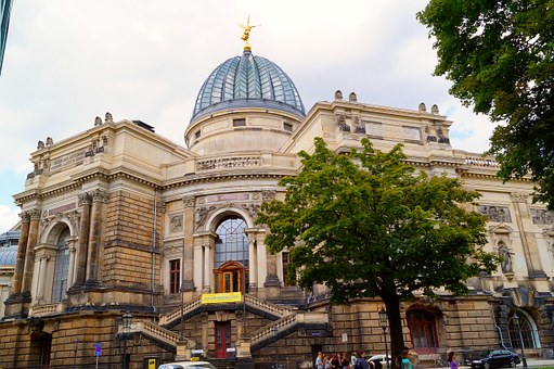 Academy Of Fine Arts, Dresden, Dome Building