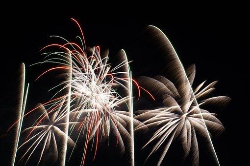 Fireworks In Knokke, Fireworks, Fireworks At The Beach