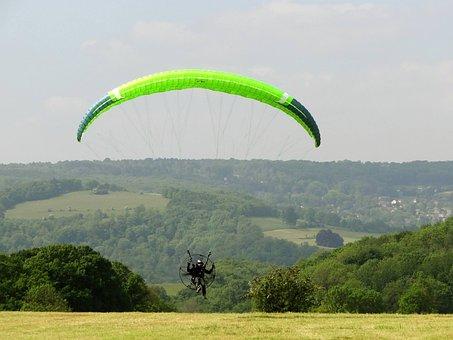 Paramotor, Paragliding, Flight, Sport, Fly