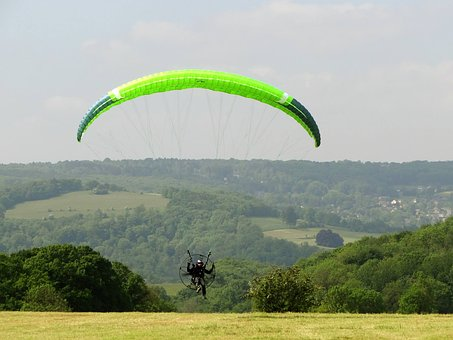Paramotor, Paragliding, Flight, Sport, Fly