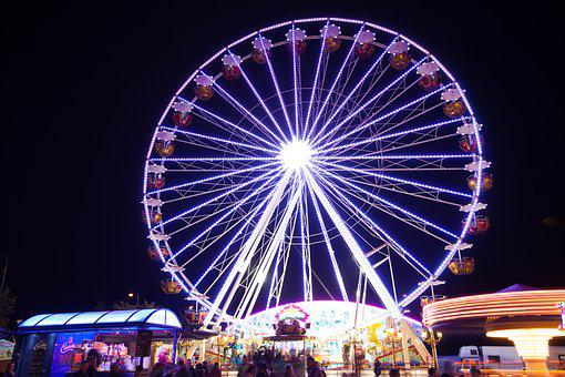 Ferris Wheel, Fair, Ride, Folk Festival, Prater