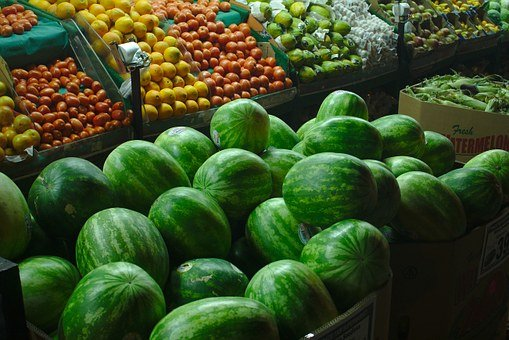 Greengrocer, Produce, Fresh, Market, Food, Farm, Health