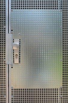 Zinc, Garage Door, Gragentür, Zinc Fog, Door Handle