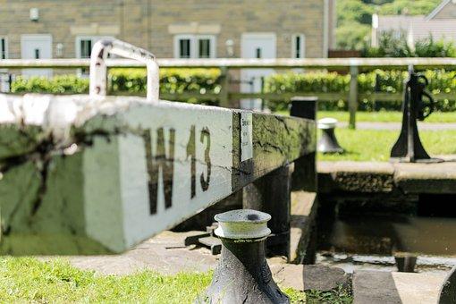 Canal, Locks, Waterway, Gate