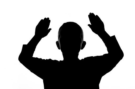 People, Child, Boy, Face, Shadow, Hand, Hands, Hands Up