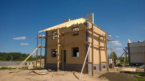 Construction, House, New House, Housing, Building