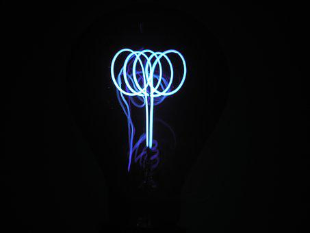 Disappearing, Light Bulb, Lamp, Light Source, Tungsten
