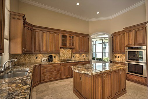 Chefs Kitchen, Luxury Home, Granite Counter Tops