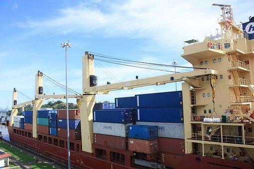 Canal, Ship, Vessel, Panama, Miraflores, Lock