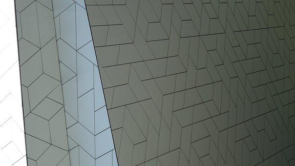 Museum, Pattern, Amsterdam, Architecture, Facade