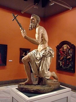 San Jerónimo, Penitent, Museum, Fine Arts, Seville