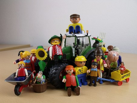 Together We Are Strong, Agriculture, Playmobil Toys