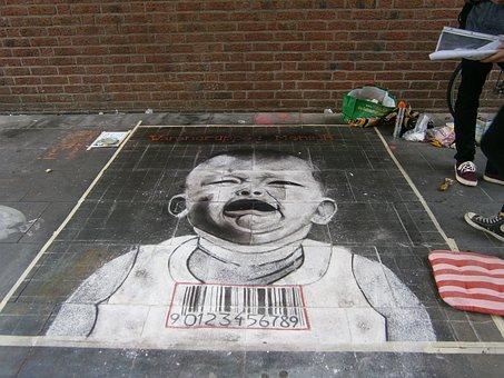 Street Painting, Road, Painting, Asphalt, Art