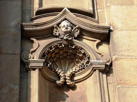 Kraków, Sculpture, Emboss, Ornament, Fine Art