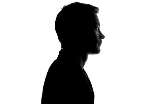 Man, People, Face, Shadow, Sadness, Male, Young