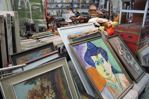 Vintage, Art, Flea Market, Retro, Nostalgia, Shop
