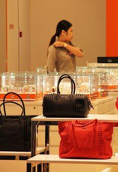 Stores, Salesperson, Office Worker, Merchandise