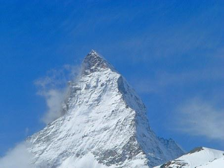 Matterhorn, The Northern Wall, Switzerland, Zermatt