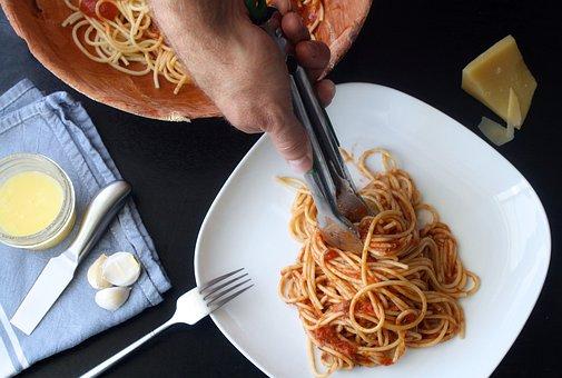 Pasta, Spaghetti, Food, Italian, Tomato, Sauce, Cuisine