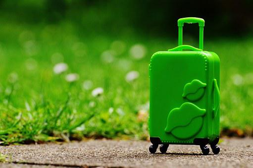 Luggage, Trolley, Travel, Farewell, Go Away, Holiday