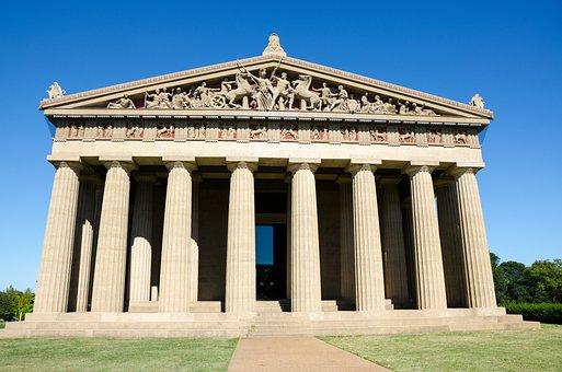 Nashville, Tennesse, Usa, America, Southern States