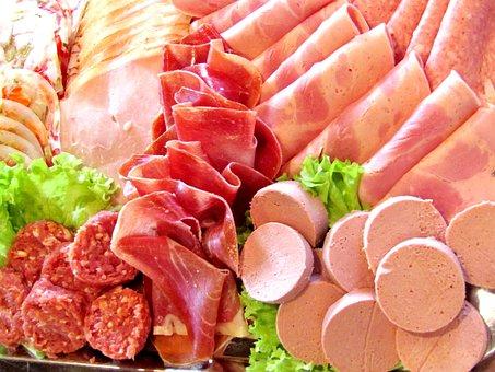 Sausage, Ham, Liver Sausage, Beer Ham, Wurstplatte